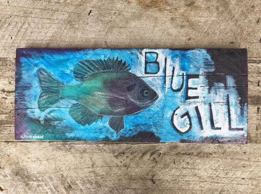Bluegill Fish Painting