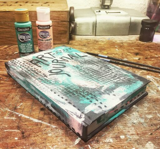 Painting art journal