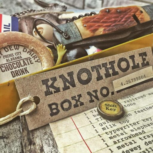 The Knothole Box - A Mysterious Package of Treasures