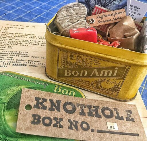 The Knothole Box - A Mysterious Package of Treasures - Unique Gift Idea