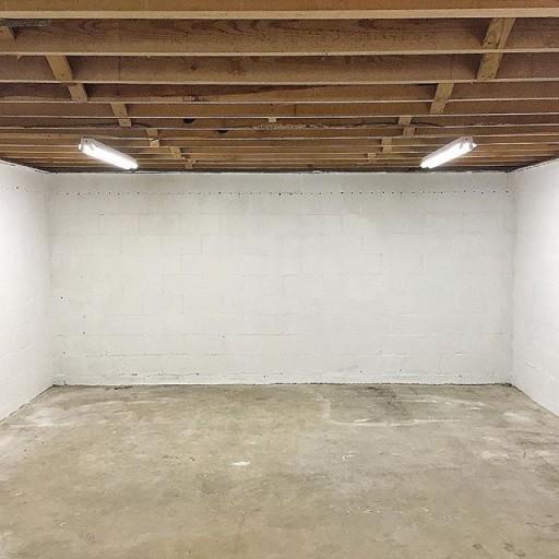 Art Studio Ideas Painting The Floor White