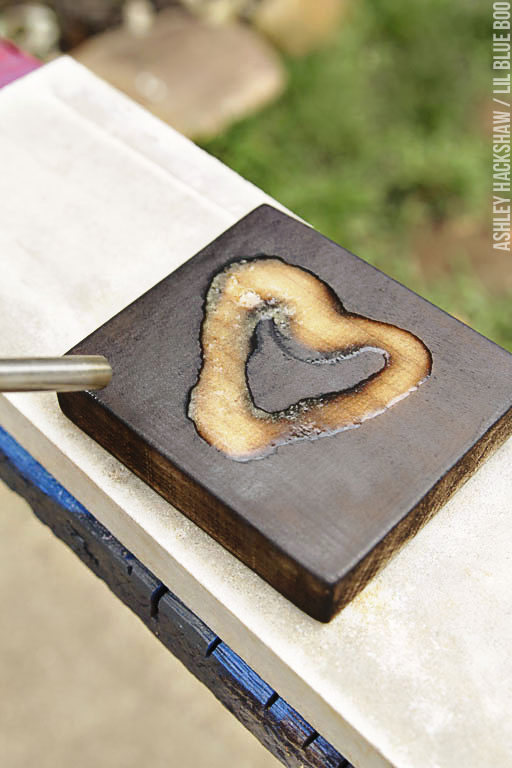 Ways to use a wood burning torch for crafts and DIY