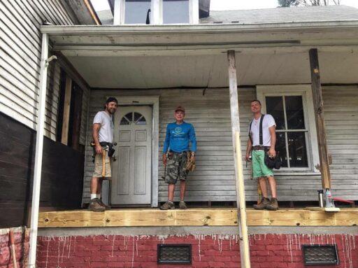 Fixer Upper Porch Team
