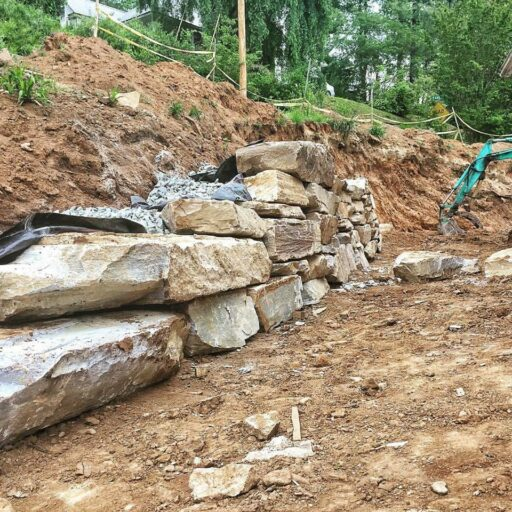 Rock Retaining Wall Ideas