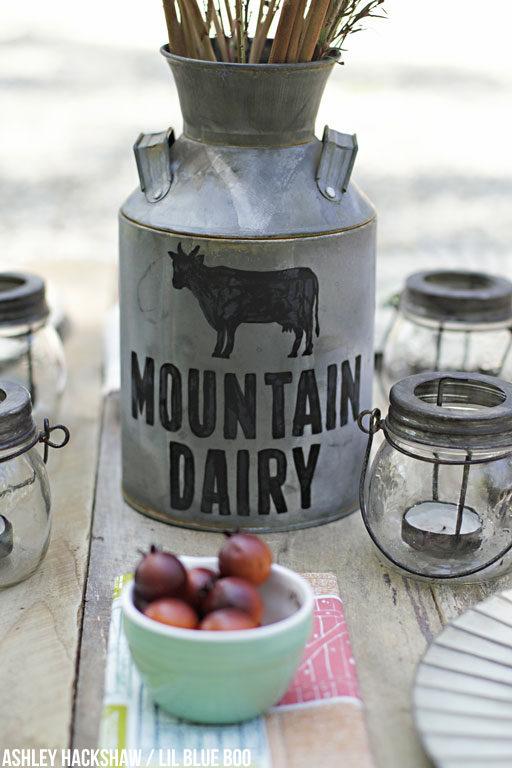 DIY Farmhouse Table Decor for Rustic Weddings and Fall Decor
