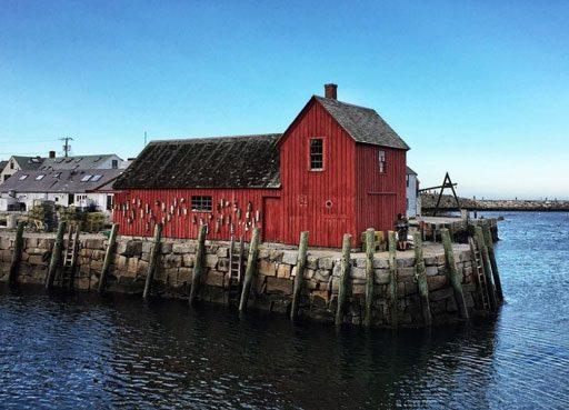 Motif Number 1 in Rockport Massachusetts Cape Ann - Rockport Harbor