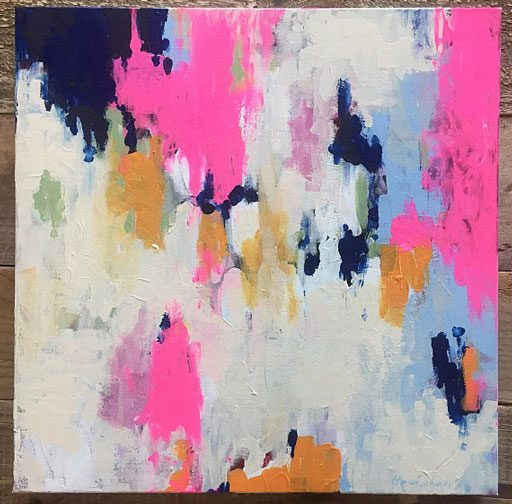 Abstract Painting by Ashley Hackshaw
