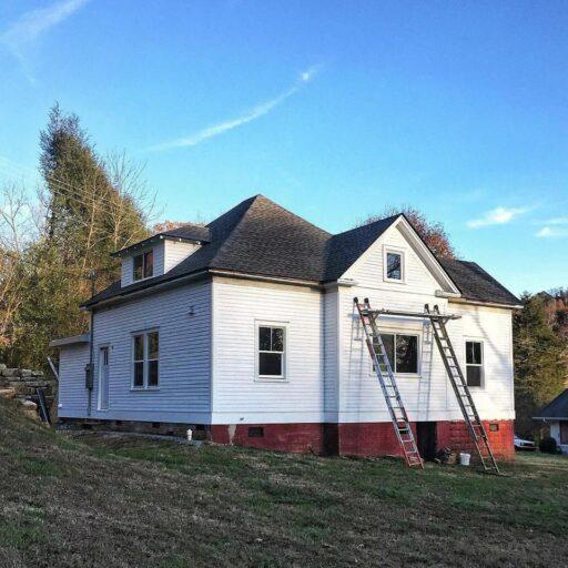 Farmhouse renovation  after photo