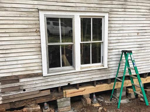 Old Farmhouse Windows