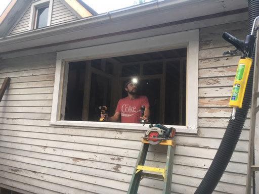 Replacing Farmhouse Windows