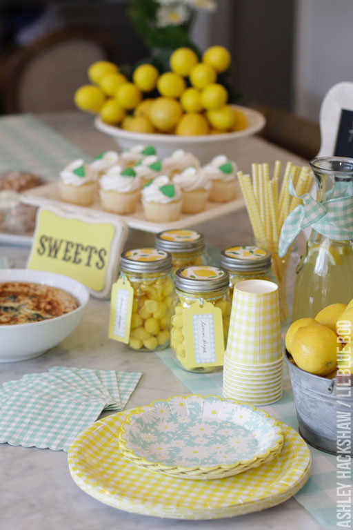 Meyer Lemon Party Decor – Martha Stewart Celebrations Mother's Day Party