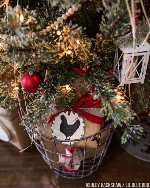 Farm and Farmhouse Christmas Tree Themes