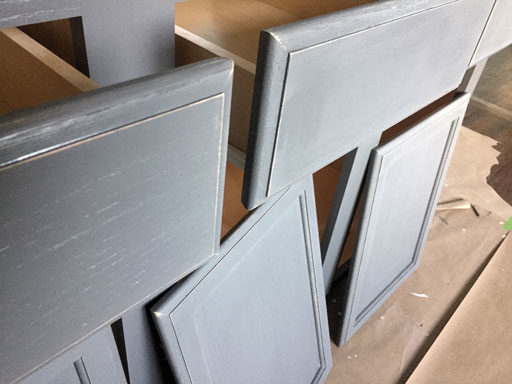 matte flat clear finish for cabinets