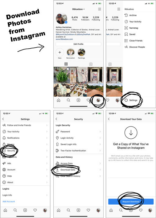 How to Download and Print Photos from Instagram