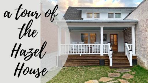 A Preview Tour of the Hazel House in Bryson City