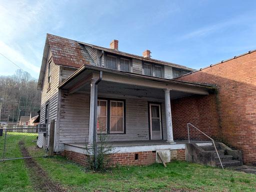 BEFORE photos - Hazel House in Bryson City